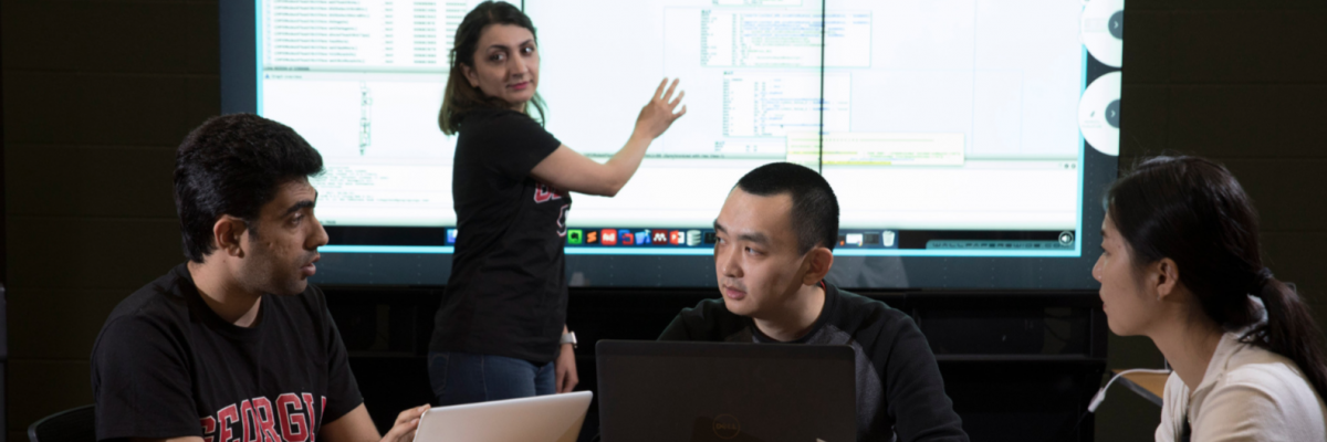 Omid Setayeshfar, Roxana Attar, Yue Yin, and Ruoyan Cai are graduate students in CS